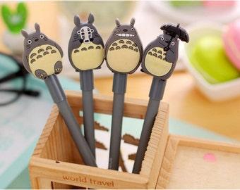 Kawaii Totoro Black Ink  Pen / My Neighbour Totoro