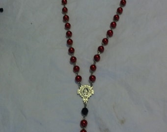 Blood of Christ Miraculous Medal Rosary