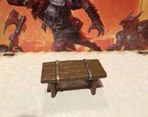 "Prepainted D&D ""Table"" Miniature Furniture"