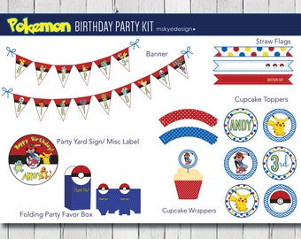 Pokemon Birthday Party Kit {Printable}
