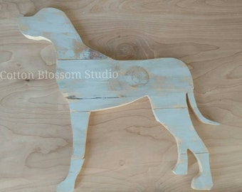 Dog Silhouette Wall Art - Dog Breed Decor - Dog Decor - Pet Wall Art - Custom Pet Silhouette- Great Dane - Dane Silhouette - Dog silhouette