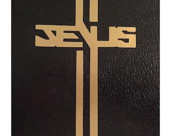 Vinyl Decal #16 - Jesus Cross