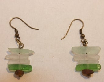 Handmade Sea Glass Earrings