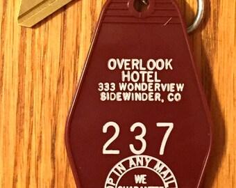 Sale! Stephen King-The Shining With Jack Nicholson/Overlook Hotel Room Key #237