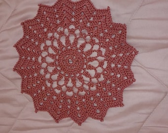Colored doily
