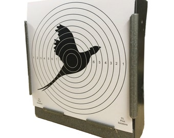 100 x Air Rifle Pheasant Target Design on 100gsm Paper 14 x 14cm