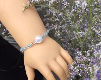 Ocean Water Pearl bracelet