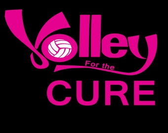 Volley for the cure tshirts