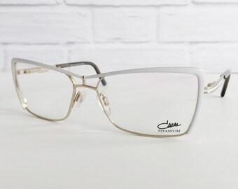 Cazal 4213 04 eyeglasses, Cazal vintage eyewear, Cazal 4213 white eyeglass frames