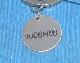Woo Hoo Keychain | Teenager Gift | Best friend Gift | Friend Gifts | New Driver Gift | Sweet 16 Gift | Gifts for Teenagers | Gift Friend |