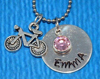 Bike Necklace | Bike Gifts Jewelry | Bicycle Necklace | Cyclist Gift | Gifts for Bikers | Bike Gift |  Gifts for Cyclist | Bicycle Jewelry |