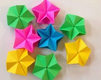 10 Origami Stars