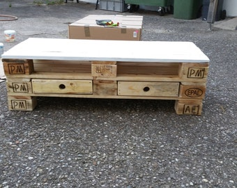 Pallet furniture sideboard - short LIEFERZET