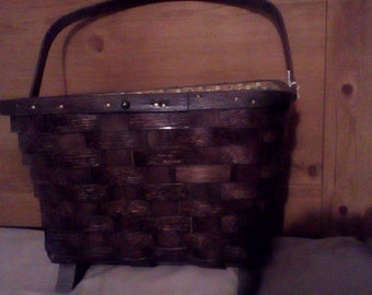 Basketville Basket With Handle