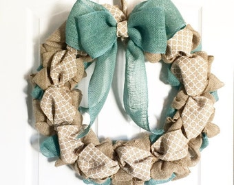Southern Style Spring Burlap