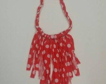 Minnie fringe necklace