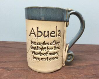 Abuela stoneware mug