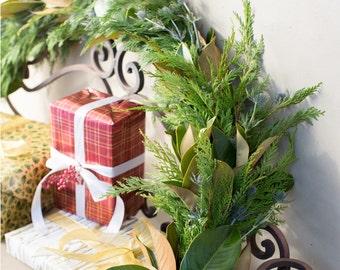 San Francisco Estate Garland | Christmas Garland | Garland for Christmas | Fresh Garland | Holiday Garland | Magnolia Garland | Cedar