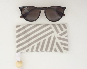 Sunglass Case | Eyeglass Case | Gift for Her