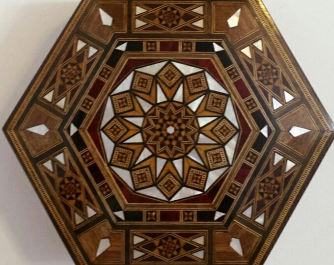 Wooden Jewelry Box / Multipurpose Storage Wooden Box - Home Decor