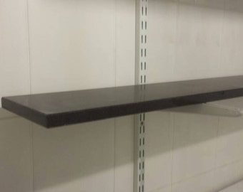Handmade Polished Black Granite Shelf - other sizes available.