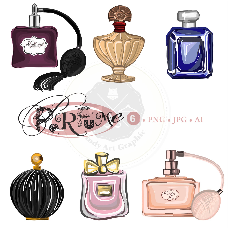 Perfume Clipartcosmetic clipartbeauty clipartdigital