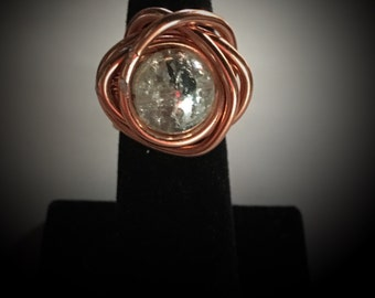 Copper Galaxy Ring