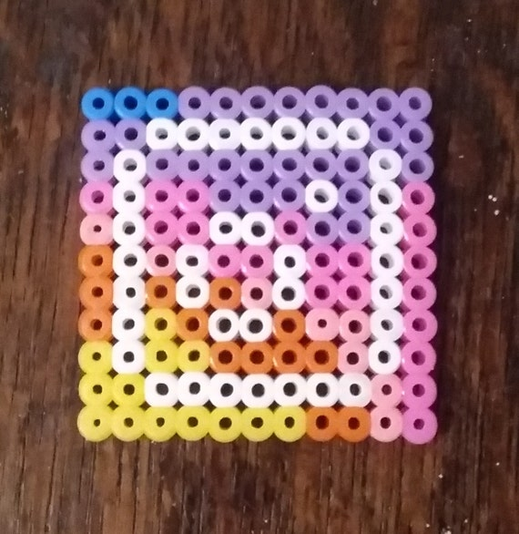 logo instagram hama beads