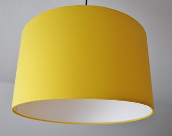 "Lampshade ""yellow Sun"""