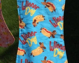 Wiener Dog Baby Burpie