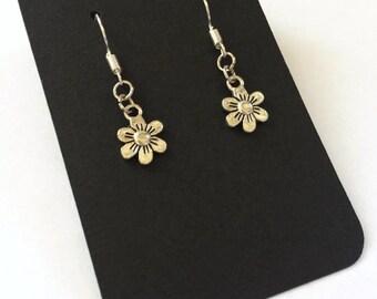 Flower Earrings Ladies Gift