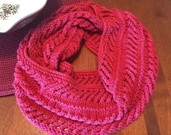 Cotton Lace Cowl