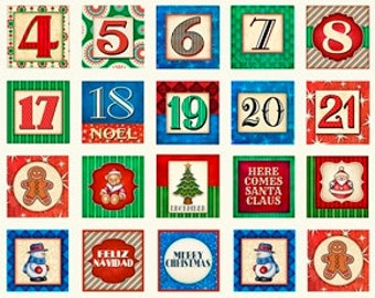 Christmas Blocks Panel