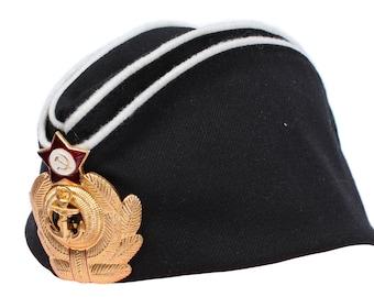 Soviet Naval Pilotka Hat Russian Officers