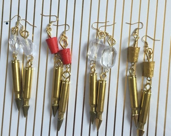 Bullet candy earrings