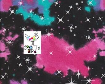 Universe & Stars Galaxy Jersey Fabric