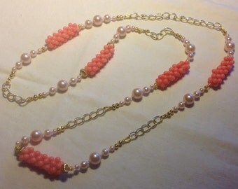 Technical raw necklace