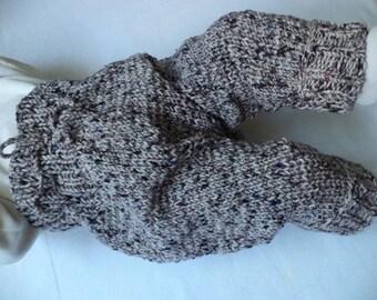 Baby pants 62/68 Merino Wool knitted pants baby pants
