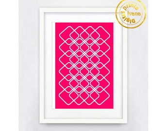 Printable art Digital Prints pink modern wall art printable art, printable prints