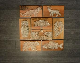 Woodland Creatures (8 Piece Set)