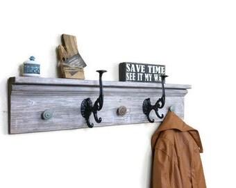 Entryway Coat Rack, Coat Hook, Hallway Coat Rack, Wall Coat Rack