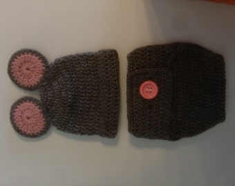 mouse diaper cover set