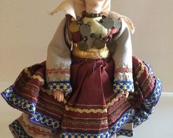 Vintage gypsy doll, Vintage dolls, Gypsy doll,