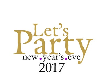 New Year's Eve 2017 Labels