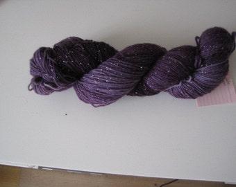"""Vampire"" 4 x glitter socks wool"