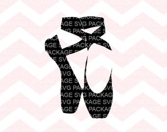 Ballerina shoes SVG Bundle, Ballet shoes SVG, Ballet svg, Ballerina shoes Ballet, Ballerina Silhouette cut files for Silhouette and cricut