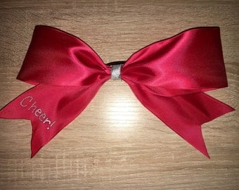 Simple one ribbon bow available in many colors