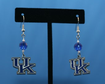 University of Kentucky Wildcats Earrings