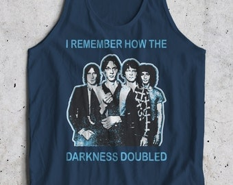 Marquee Moon 70's Inspired Television New Wave New York Punk Rock Tank Top Sleeveless T-Shirt Top Vest All Sizes And Colours