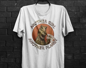 Another Girl Another Planet The Only Inspired Ones Punk Garage Rock Adults Mens & Women's T-shirt Top Tee Shirt All Sizes And Colours